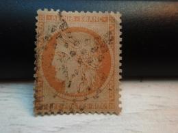 TIMBRE TYPE CERES 40C ORANGE, N° 38 OBLITERE Chiffre 1 Charnière - 1870 Siège De Paris
