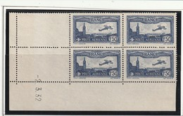 France Coin Daté Poste Aérienne N° 6 Marseille 2 3 1932 ** - Dated Corners