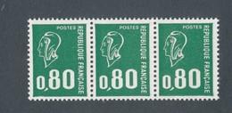 FRANCE - N°YT 1891b) NEUFS** EN BANDE DE 3  - 1977 - COTE: 6.00€ - France