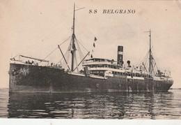 CPA -  S.S BELGRANO - 056 - Dampfer