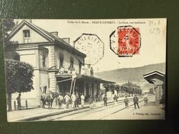 Vallée De La Meuse - BRAUX-LEVREZY -La Gare, Vue Intérieure - Francia