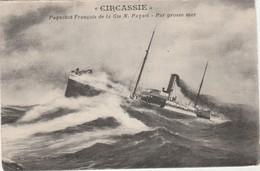 CPA -  CIRCASSIE - Cie Paquet - 057 - Dampfer
