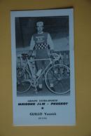 CYCLISME: CYCLISTE : YANNICK GUILO - Ciclismo