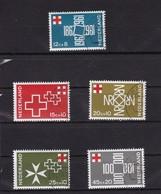Rode Kruiszegels Red Cross Rotes Kreuz NVPH 889-893 (Mi 883-887) 1967  Used - Period 1949-1980 (Juliana)