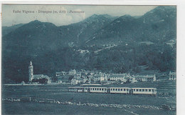 Ferrovia Centovalli -Druogno - 1926         (A-199-191118) - Treni