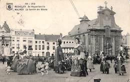 Mechelen -  De Reuzenfamilie  (animatie Berchem Anvers) - Mechelen