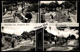 ÄLTERE POSTKARTE ZOUTELANDE HOTEL HET STREEFKERKSE HUIS MIDGET GOLF Minigolf Miniature Crazy Golf Ansichtskarte Postcard - Zoutelande