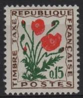 FR/TAX 63 - FRANCE N° 97 Neuf** - 1960-.... Neufs