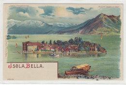 Hold-to-Light - Isola Bella (illuminata Della Luna) - Litho Meteor        (A-199-191118) - Controluce