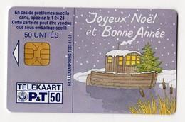 LUXEMBOURG TELECARTE TS27-11.01 NOEL - Christmas