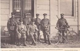 1914-18 / OORLOG / GUERRE /  VISE /  OFFICIERS ALLEMANDS - Weltkrieg 1914-18