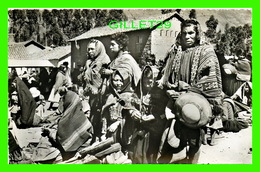 PISAC, PÉROU - INDIOS REZANDO - INDIANS PRAYING - ÉCRITE EN 1963 - SWISS-FOTO KODAK - - Perú