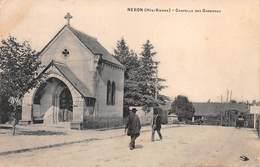 87 NEXON- Chapelle Des Garennes- Correspondance Militaire Cachet 43e Infanterie 1915 - France