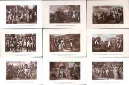 Napoléon - Lot 10 Cartes Musée De Versailles (Astra Colorisée 1909) - Personnages