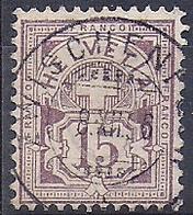 18106...TYPE CHIFFRE No. 64A  Avec Oblitération Centrale - Gebraucht