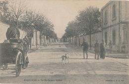 ANGOULEME - N° 182 - LE BOULEVARD LIEDOT - Angouleme