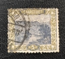 Allemagne Sarre 1921 DE SL 53 Mill Above Mettlach Valley Of The Sarre - Used Stamps