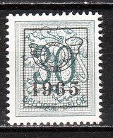 PRE763**  Chiffre Sur Lion Héraldique - 1965 - Bonne Valeur - MNH** - Vendu à 10% Du COB!!!! - Préoblitérés