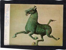 92478    China,  Cheval Volant,  Bronze,  Chine,  Epoque Des Han Posterieurs,  Decouvert En 1969 A Wou-wei,  Kansou,  NV - Fine Arts