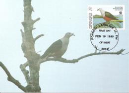 1990 - MICRONESIA Micronesie - Pohnpei Caroline Islands - Iles Carolines - MICRONESIAN PIGEON - Micronésie