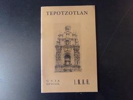Tepotzotlan Par Obregon, 1961, 33 Pages - Culture