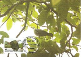 1990 - MICRONESIA Micronesie - Pohnpei Caroline Islands - Iles Carolines - MICRONESIAN PIGEON - Micronesia