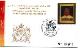 Maroc 2009 Y&T N° 1524 FDC - Marruecos (1956-...)