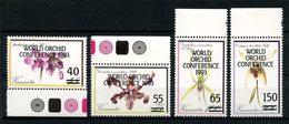 VANUATU 1993  N° 907/910 ** Neufs MNH Superbes  C 8,10 €  Flore Fleurs Flora Flowers Orchidées Conférence Glasgow - Vanuatu (1980-...)