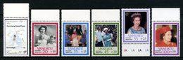 VANUATU 1987 N° 763/768 ** Neufs MNH Superbes C 20 € Reine Elizabeth Victimes Ouragan Cook Flore Flowers - Vanuatu (1980-...)