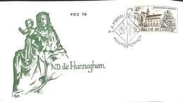 [903269]TB//-Belgique 1976 -  Eglises Et Cathédrale - FDC