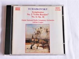 """Tchaikovsky, Symphony N° 2 """"Little Russian"""", &  N°4, Op.36, Adrian Leaper - Classique"""