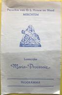 Maria-Processie - O.L.Vrouw Ter Nood - Merchtem - Religion & Esotérisme