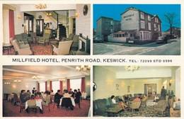 Postcard Millfield Hotel Penrith Road Keswick My Ref  B14062 - Cumberland/ Westmorland