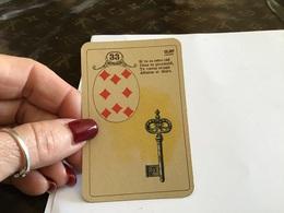 Carte A Jouer Carreaux Clef - Speelkaarten
