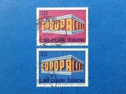 1969 ITALIA EUROPA CEPT FRANCOBOLLI USATI STAMPS USED - 6. 1946-.. Repubblica