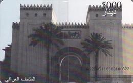 TARJETA DE IRAK DE 5000 DINARS DE UN MUSEO (NUEVA-MINT) - Irak