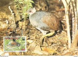 1992 - NIUAFO'OU MEGAPODE - Tonga - Mégapode De Pritchard WWF - Cocos (Keeling) Islands