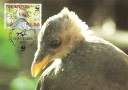 1992 - NIUAFO'OU MEGAPODE - Tonga - Mégapode De Pritchard WWF - Islas Cocos (Keeling)