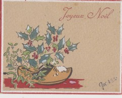 Fêtes - Joyeux Noël - Sabot Houx - 1945 - Other