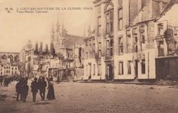 1914-18 / GUERRE / OORLOG / LEUVEN / OUDE MARKT EN UNIVERSITEIT - Guerre 1914-18