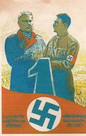 DC137 - Adolf Hitler Hindenburg WW2 - REPRO - War 1939-45