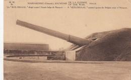 1914-18 / GUERRE / OORLOG / OOSTENDE /  MARIAKERKE / DUITS KANON KOLOSSAAL - Weltkrieg 1914-18