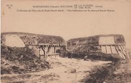 1914-18 / GUERRE / OORLOG / OOSTENDE /  MARIAKERKE / DUITSE STELLINGEN IN DE DUINEN / VERNIELD STRACKE MUSEUM - Weltkrieg 1914-18