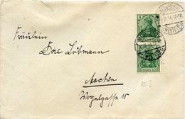 (Lo3986) Brief DR St. Münster N. Aachen - Allemagne