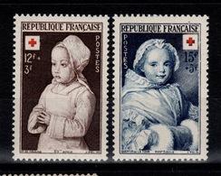 Croix Rouge 1951 YV 914 & 915 N** Cote 8,50 Euros - France