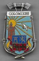 Pompiers COLOMIERS - Insigne émaillé Arthus Bertrand - Pompiers