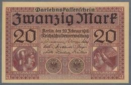 P57 Ro55 DEU-62. 20 Mark 20/02/1918  UNC - [ 2] 1871-1918 : Empire Allemand