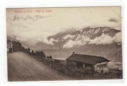 Montana S. Sierre  -  Effet De Nuages 1910 - Suisse