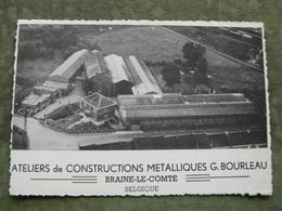BRAINE LE COMTE - ATELIERS DE CONSTRUCTION METALLIQUES G. BOURLEAU - Braine-le-Comte