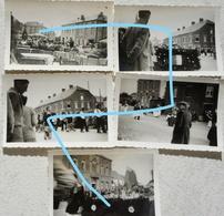 Photox5 FROIDCHAPELLE Région Rance Beaumont Cerfontaine Carnaval 1955 - Lieux